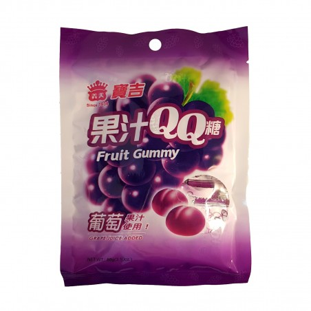 Caramelle al gusto uva - 88 g Imei YKW-78232264 - www.domechan.com - Prodotti Alimentari Giapponesi