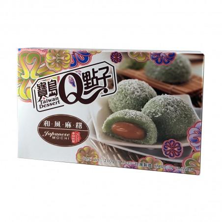 Mochi kokos-und pandan - 210 g Taiwan mochi museum YJY-39449388 - www.domechan.com - Japanisches Essen
