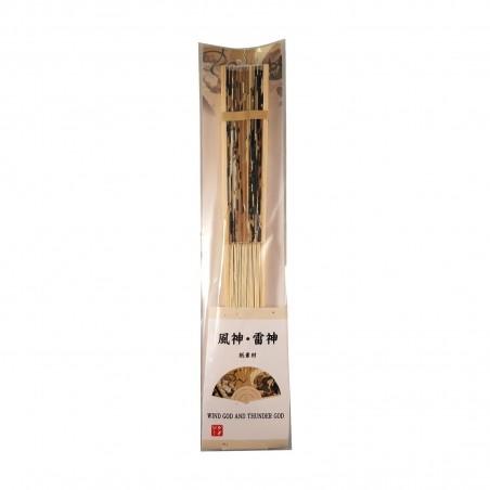 Fächer japanisch - Wind god and thunder god Domechan YQY-67294584 - www.domechan.com - Japanisches Essen
