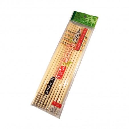 Japanese chopsticks in bamboo anti-slip Domechan YYW-73933736 - www.domechan.com - Japanese Food