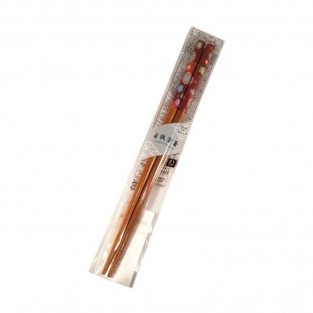 Bacchette giapponesi in bamboo - Fiori Domechan ZCY-75875344 - www.domechan.com - Prodotti Alimentari Giapponesi