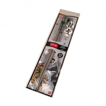 Bacchette giapponesi in legno colori assortiti - Dragon e Tiger Domechan ZEW-83342677 - www.domechan.com - Prodotti Alimentar...