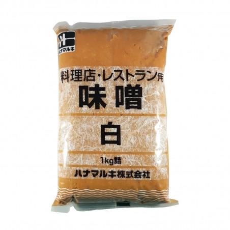 史朗味噌(白味噌料理店休曜-1Kg Hanamaruki ZGY-37579524 - www.domechan.com - Nipponshoku