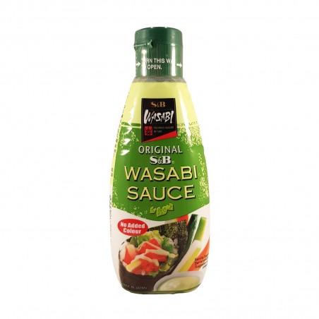 Sauce wasabi - 170 g S&B TGY-46869357 - www.domechan.com - Japanese Food
