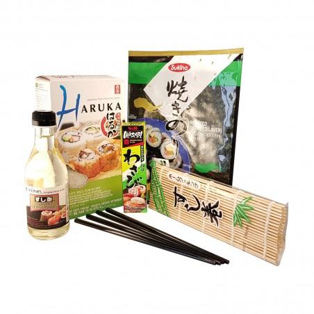 Kit de sushi base - 6 piezas Domechan  - www.domechan.com - Comida japonesa