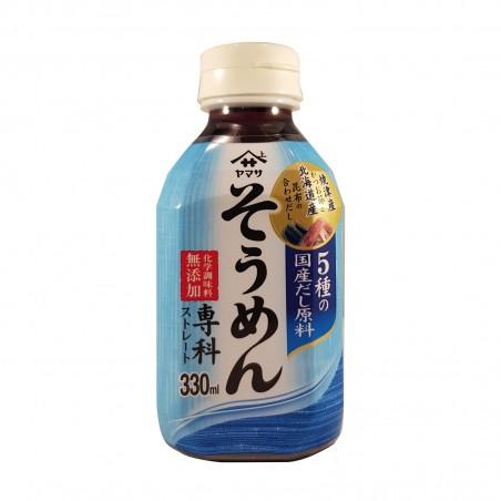 Somen pasta broth - 330 ml Yamasa HJW-63962324 - www.domechan.com - Japanese Food