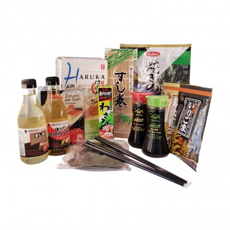 Kit sushi completo - 13 pezzi Domechan  - www.domechan.com - Prodotti Alimentari Giapponesi