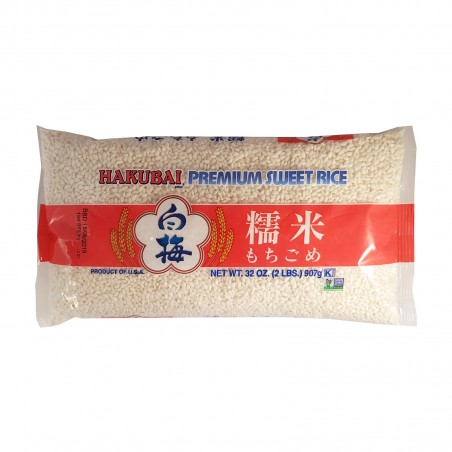 Sweet rice hakubai mochigome - 907 g JFC ZVU-97456267 - www.domechan.com - Japanese Food