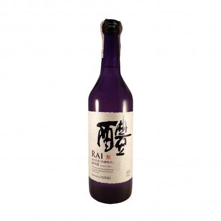 Sake junmai shu rai ozeki - 720 ml Ozeki ZZC-95227682 - www.domechan.com - Japanese Food