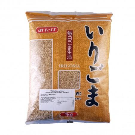 Semi di sesamo bianco II - 1 kg Mitake  ZZD-95227784 - www.domechan.com - Prodotti Alimentari Giapponesi