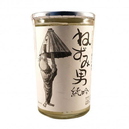 Sake Chiyomusubi Otoko Junmai Ginjo - 180 ml Chiyomusubi SAB-11039099 - www.domechan.com - Japanese Food