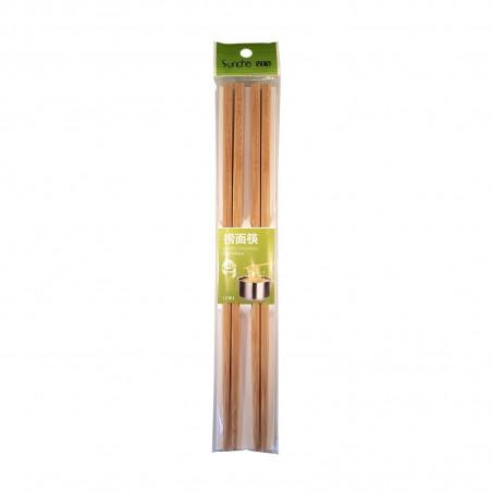 Bacchette di bamboo per noodles - 2 paia Suncha ZZN-30148905 - www.domechan.com - Prodotti Alimentari Giapponesi