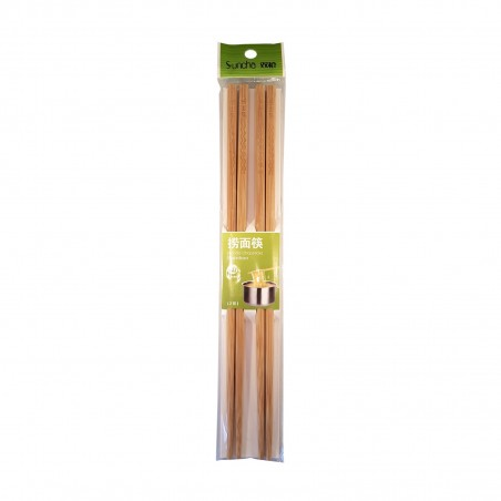 Chopsticks bamboo for noodles - 2 pairs Suncha ZZN-30148905 - www.domechan.com - Japanese Food