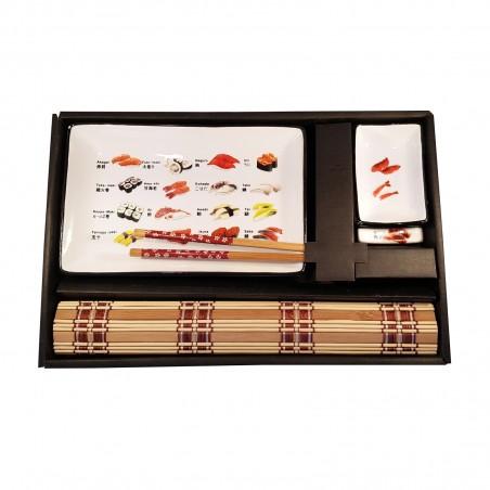 Set cena giapponese singolo - 5 pz Uniontrade ZAR-40151239 - www.domechan.com - Prodotti Alimentari Giapponesi
