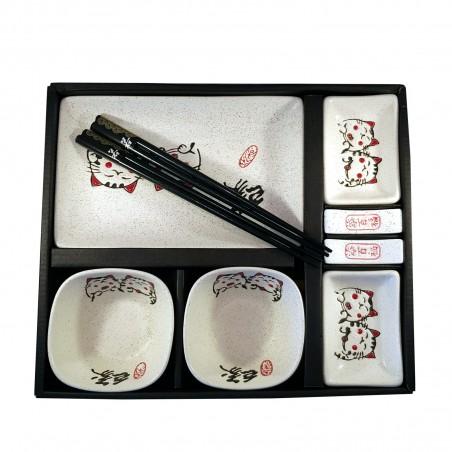 セットで和食のディナー二人き猫-10個入 Uniontrade ZAS-40161240 - www.domechan.com - Nipponshoku