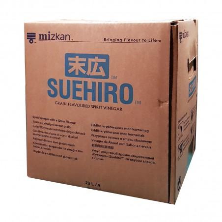 Aceto di riso e cereali Mizkan Suehiro - 20 l Mizkan OAW-97106502 - www.domechan.com - Prodotti Alimentari Giapponesi