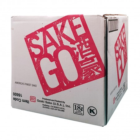Ozeki Sake Go - 18 l Ozeki SAK-51012095 - www.domechan.com - Prodotti Alimentari Giapponesi