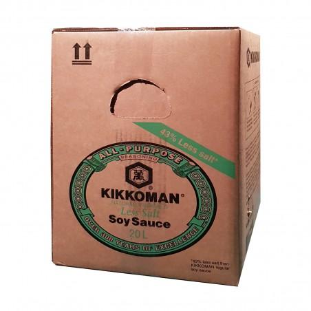 Soy sauce from kikkoman Genen - 20 l Kikkoman ASU-03398669 - www.domechan.com - Japanese Food