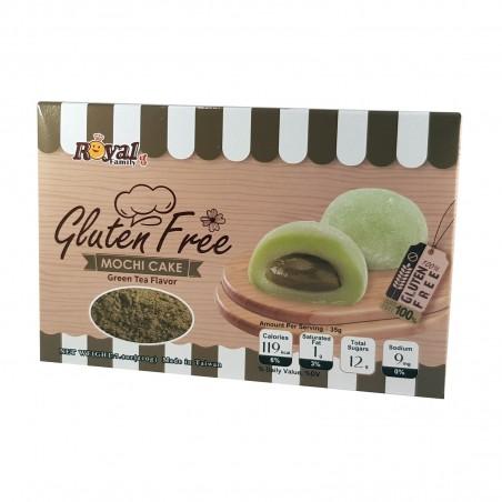 Mochi al tè verde senza glutine - 210 g Royal Family PRQ-00857289 - www.domechan.com - Prodotti Alimentari Giapponesi