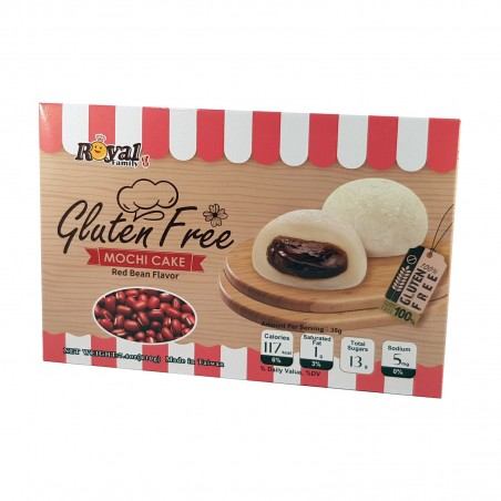 Mochi ai fagioli rossi senza glutine - 210 g Royal Family CRF-87410236 - www.domechan.com - Prodotti Alimentari Giapponesi
