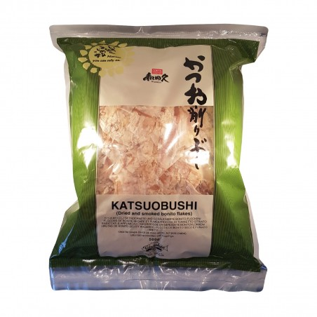 Katsuobushi standard (tuna dried, smoked flakes) - 500 g Wadakyu Europe VXX-17365480 - www.domechan.com - Japanese Food