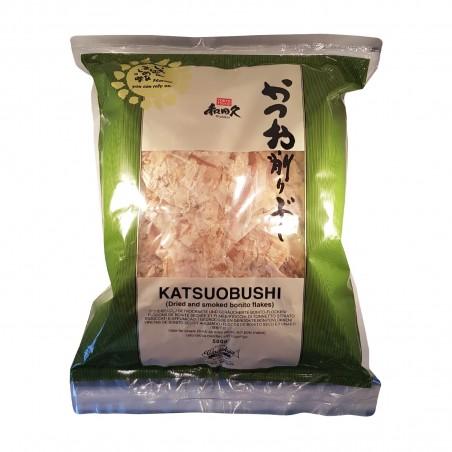 Katsuobushi standard (tonnetto essiccato e affumicato in scaglie) - 500 g Wadakyu Europe VXX-17365480 - www.domechan.com - Pr...