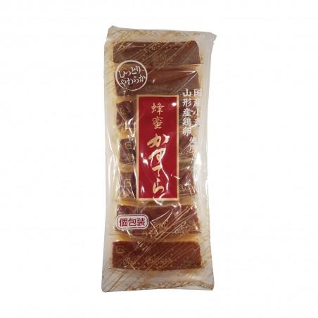 Hachimitsu kasutera (pan di spagna) - 250 g (7 pezzi) Tanbayaseika PQR-60678432 - www.domechan.com - Prodotti Alimentari Giap...