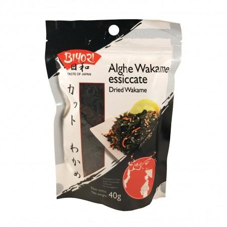 Alga wakame essiccate dried wakame - 40 gr Qingdao Youqing BTV-32015632 - www.domechan.com - Prodotti Alimentari Giapponesi