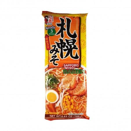 五木札幌の味噌ラーメン-188g Itsuki ZAZ-41201566 - www.domechan.com - Nipponshoku