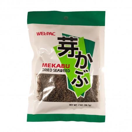 Alge mekabu wakame - 56,7 gr Wel Pac SGS-38415601 - www.domechan.com - Japanisches Essen