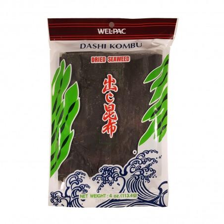 Seaweed, dashi kombu - 113,4 gr Wel Pac QQP-39920177 - www.domechan.com - Japanese Food
