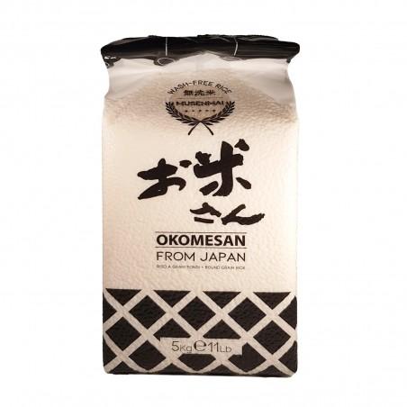 Rice for sushi musenmai Okomesan - 5 Kg Okomesan HWP-10980283 - www.domechan.com - Japanese Food