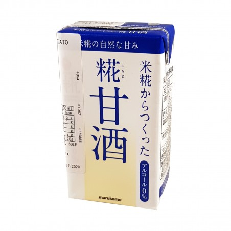 Marukomeプラス二甘酒-125ml Marukome HGL-18290285 - www.domechan.com - Nipponshoku