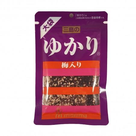 Foglie di yukari shiso con umeboshi - 50 g Mishima FIC-19362845 - www.domechan.com - Prodotti Alimentari Giapponesi