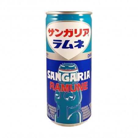 Ramune limonata giapponese lattina - 250 ml Sangaria VZM-28153412 - www.domechan.com - Prodotti Alimentari Giapponesi
