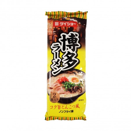 Ramen Tonkotsu (maiale) medio - 188 g Daisho HGU-65836475 - www.domechan.com - Prodotti Alimentari Giapponesi