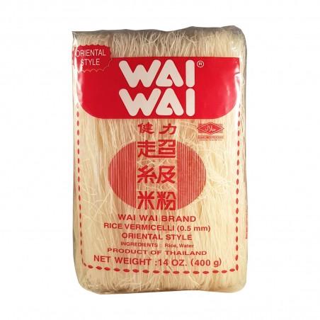 Pasta vermicelli di riso wai - 400 g Wai LCY-19451629 - www.domechan.com - Prodotti Alimentari Giapponesi