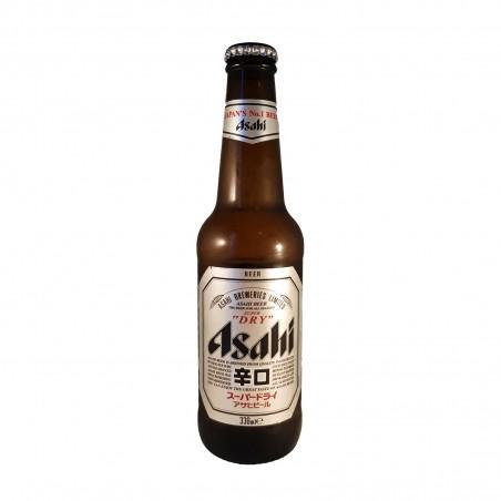 Bière asahi super dry verre 330 ml Asahi BHW-24325778 - www.domechan.com - Nourriture japonaise