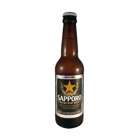 Beer sapporo glass - 330 ml Sapporo BJW-57292264 - www.domechan.com - Japanese Food