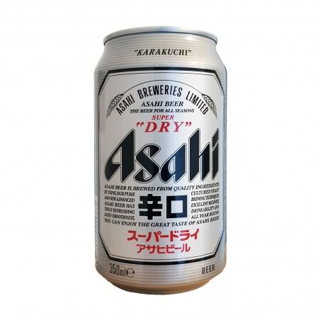 La cerveza asahi super dry en latas - 330 ml Asahi LXX-28519001 - www.domechan.com - Comida japonesa