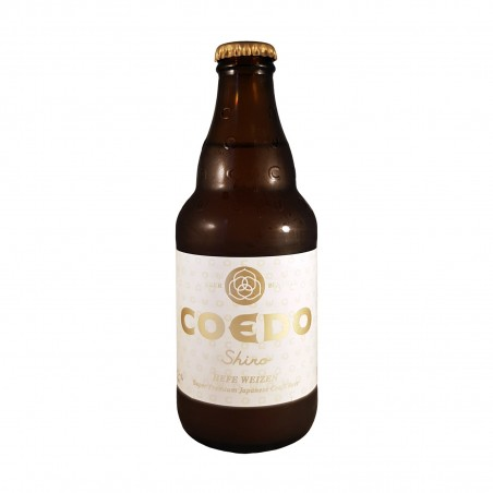 Bier coedo shiro - 333 ml Kyodo Shoji Koedo Brewery ALD-65748375 - www.domechan.com - Japanisches Essen
