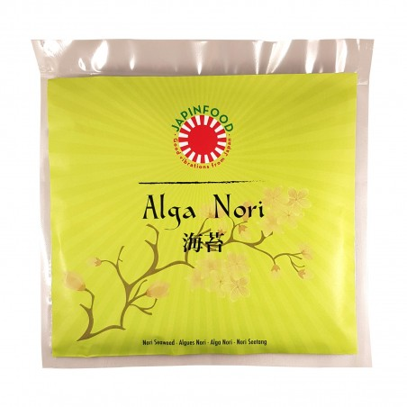 Alga nori JAPINFOOOD - 25 g JAPINFOOD BCY-28194032 - www.domechan.com - Japanisches Essen