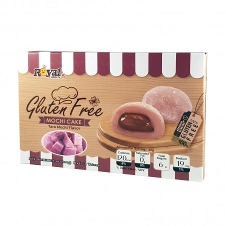 Mochi al taro senza glutine - 210 g Royal Family LPO-24162090 - www.domechan.com - Prodotti Alimentari Giapponesi