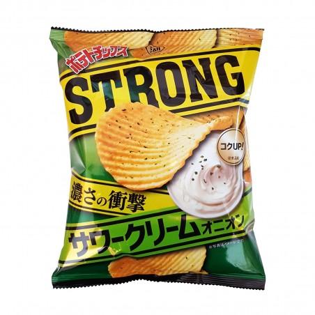 のポテト味のワークリームと玉ねぎ-56g Koikeya Belgium Branch MEO-27163098 - www.domechan.com - Nipponshoku