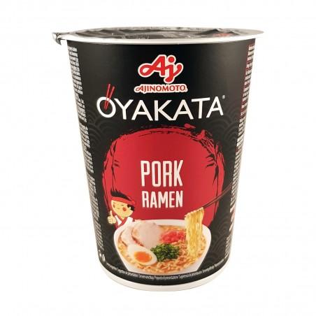 Pork ramen soup - 63 g Ajinomoto XIQ-16582001 - www.domechan.com - Japanese Food