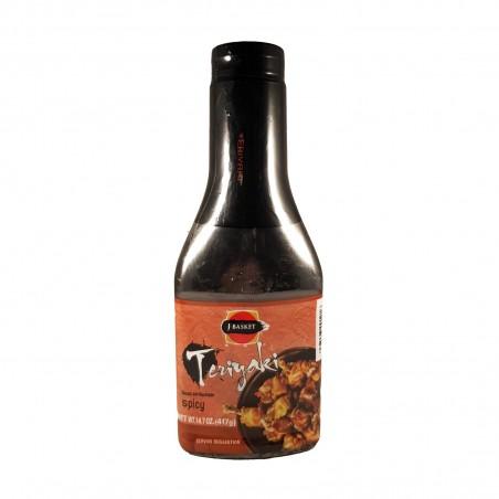 Teriyaki sauce spicy thick - 443 g J-Basket QEA-36294036 - www.domechan.com - Japanese Food