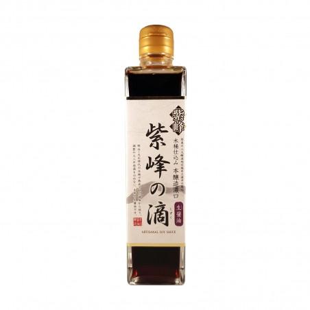 Soja-sauce nicht pasteurisiertem - 300 ml Shibanuma JAK-37288330 - www.domechan.com - Japanisches Essen