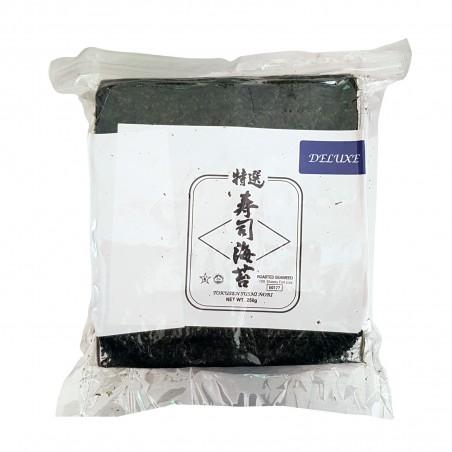 Alga nori tokusen half (hälfte) - 250 g J-Basket BCU-53988950 - www.domechan.com - Japanisches Essen