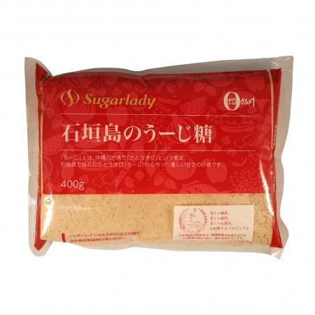 Zucchero di canna ultrafine - 400 g Sugarlady PAM-74663001 - www.domechan.com - Prodotti Alimentari Giapponesi