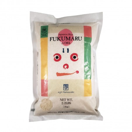 Japanese rice fukumaru - 1 kg Agri Yamazaki ZOA-77302999 - www.domechan.com - Japanese Food